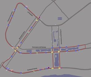 Экзаменационный маршрут ГИБДД в Марьино