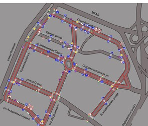 Экзаменационный маршрут ГИБДД на Варшавске