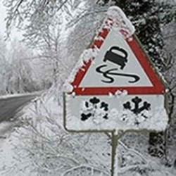 Рекомендации для начинающих водителей в зимний сезон